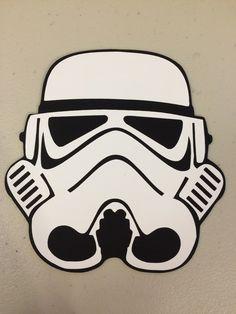 Stormtrooper Invitations/Stormtrooper Punch Art Invitations