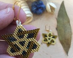 """Seed Beaded Earrings, Name: """"Forever Connected Goddess"""" Seed Bead Earrings, Beaded Earrings, Statement Earrings, Seed Beads, Crochet Earrings, Red Garnet, Celtic Knot, Up Hairstyles, Hand Weaving"""