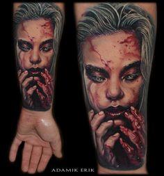 15 Nightmarish Horror Tattoos