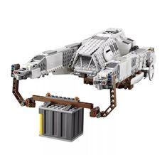 Build a tough Imperial AT-Hauler with stud shooters and rotating lifter arms for carrying big loads with this LEGO Star Wars Imperial AT-Hauler Set Lego Creationary, All Lego, Lego Toys, Lego Jedi, Starwars Lego, Toy Story Figures, Lego Challenge, Terrapin, Lego Projects