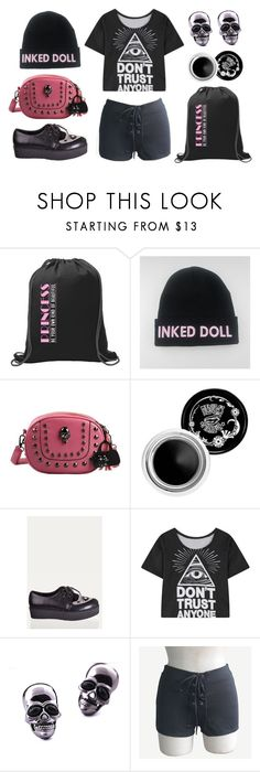 """Inked Princess"" by rebelsmarket-0 on Polyvore"