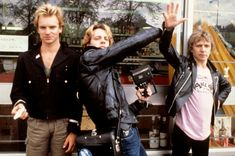 Andy SUMMERS and POLICE and Stewart COPELAND and STING