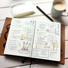 Bullet Journal Inspiration | Doodle ♥