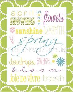 spring printable-for foyer
