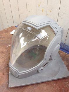 Pacific Rim Styled Pilot Drift Helmet Kit by MrPinskiProps on Etsy, $270.00