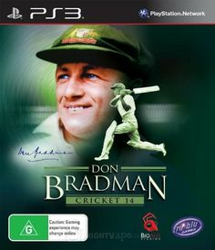 Don Bradman Cricket 14 is an upcoming cricket video game for the PlayStation 3, Xbox 360. Don Bradman Cricket 14 includes several new features and considerable improvements over past cricket games. It will be the first cricket game with a full career mode and a built-in player creator.