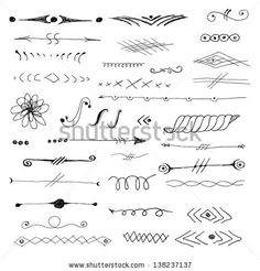 Decorative elements  - #DRAW #ZENTANGLE #ZENDALA #TANGLE #DOODLE #BLACKWHITE #BLACKANDWHITE #SCHWARZWEISS