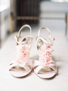 Pink Floral Bridal Sandals   MyLife Photography https://www.theknot.com/marketplace/mylife-photography-griffin-ga-770756