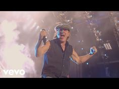 Music video by AC/DC performing Rock N Roll Train. (Live At River Plate 2011 Leidseplein Presse B. Hard Rock Music, Rock N Roll Music, Music Songs, New Music, Music Videos, Music Life, Dance Music, Heavy Metal, Malcolm Young