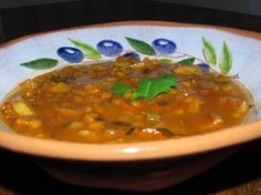 Curry Potato Lentil Soup.