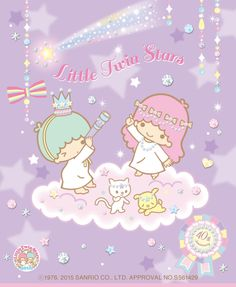 【2015】ALOOK FACTORY x My Melody ♥ Little Twin Stars 40th Anniversary ★  Glasses ★ #LittleTwinStars #LittleTwinStars40thAnniversary