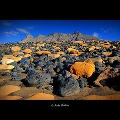 Un rincón de la playa de Cofete (Fuerteventura)