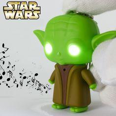 2016 New LED Darth Vader Star War Yoda Action Figure Anakin Skywalker keychains