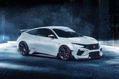 This is a car we want to see Honda build - the Civic Type R coupe. Based on the Civic coupe concept first unveiled at the New York Auto Show earlier this Honda Civic Coupe, Honda Civic Type R, Honda Civic Hatchback, Auto Honda Civic, Honda Civic 2017, Civic Lx, Civic Sedan, Honda Accord, Soichiro Honda