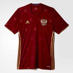adidas - CAMISETA DE FÚTBOL SELECCIÓN RUSA Adidas Camisetas e7505af253609