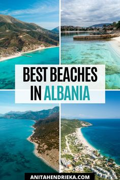 There's no doubt that Albania is a hidden gem in Europe, many people don't even know it exists!This is why I created the best Albania travel guide to the Albania beach destinations along the Albanian Riviera which includes Ksamil, Saranda, Vlore, Dhermi and more! Get to know some of the best places to visit in albania, things to do in albania, albania food recommendations and albania travel tips. Albania is a top balkan destination and best Europe vacation spot for the European summer! Albania Beach, Visit Albania, Albania Travel, Europe Travel Outfits, Europe Travel Guide, Travel Tips, Vacation Destinations, Vacation Spots, Secluded Beach