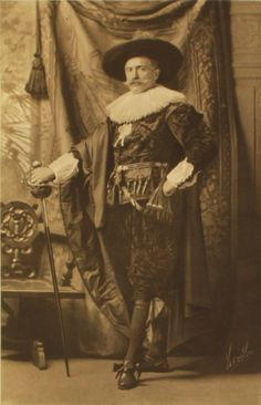 Sir Edgar Vincent as a Dutch Stadholder after Franz Hals,  at the Duchess of Devonshire's Diamond Jubilee Costume Ball, July 2, 1897.