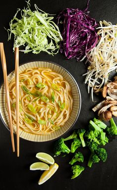 Gluten-Free Vegan Pho. Quick and easy! Not really a meal in itself, but a great starter/side.: