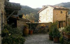 Castello della Pieve, Marche. Italia