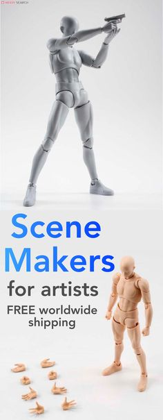 Scene Makers for Artists body kun