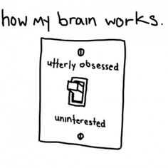 Yes! I imagine that this switch literally exists in my brain!