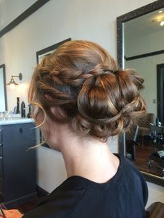 Updo for a formal event by Angela Rose