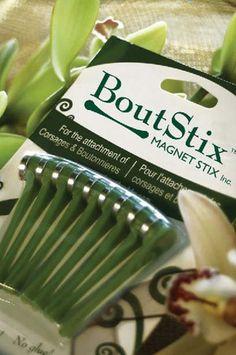 BoutStix Magnetic Boutonnieres