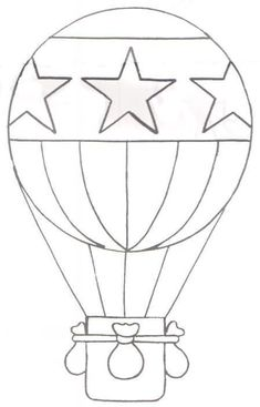 Coloring Page 2018 for Globo Aerostatico Colorear, you can see Globo Aerostatico Colorear and more pictures for Coloring Page 2018 at Children Coloring. Colouring Pages, Coloring Books, Balloon Template, Balloon Crafts, Stained Glass Patterns, Applique Patterns, Drawing For Kids, Hot Air Balloon, String Art