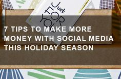 Use social media to help your eCommerce business sell more this Christmas! Make More Money, How To Make, Marketing Opportunities, The Marketing, Ecommerce, Holiday, Christmas, Social Media, Seasons