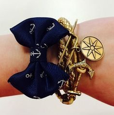 Can you resist this arm candy? Find both the Anchor Bow bracelet and the Royal's Golden Fleet wrap bracelet by Kiel James Patrick exclusively at Crabtree & Evelyn.