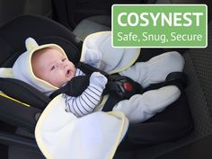 We are delighted to be able to introduce an Innovative IRISH Company's COSYNEST Kickstarter campaign! Baby Safe, Baby Car Seats, Irish, Campaign, Children, Shop, Clothes, Products, Young Children