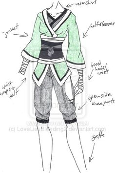 100 best outfit design images anime outfits manga - Croquis naruto ...