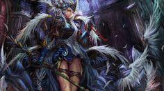 Anime Fantasy Girl War Armor  #Manga #Illustration #Anime