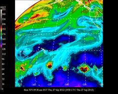 #UHManoa #Hawaii #Meteorology #Weather #Temp 81F #RH 54% #Winds NE 14mph #MostlySunny
