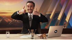 """Jan Böhmermanns """"Neo Magazin"""" ist """"royal"""" geworden - aber nicht besser. Mit seinem Nischenformat """"Neo Magazin"""" wagt sich Jan Böhmermann ins ZDF-Hauptprogramm. Was in der Experimentierkammer lustig war, geht auf großer Bühne leider unter. Das ZDF versucht """"junges deutsches Fernsehen"""" - heraus kommt Bürgerliches. zdf_neo (Foto: Twitter/neomagazin) #People #Fernsehn #Entertainment   n-tv.de"""