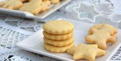 En 10 minutos: Si tienes un solo huevo prepara estas ricas galletas sin usar harina | MUI Recetas Cookies Cupcake, Biscotti Cookies, Edible Cookies, Almond Cookies, Yummy Cookies, Shortbread Cake, Biscuits, Bread Machine Recipes, Fondant Cakes
