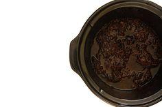 Mermelada de bacón. Receta para Crock Pot. #mermelada #bacon #crockpot #crockpotting #slowcooker #slowcooking
