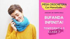 BUFANDA INFINITA - Crochet en Tiempo Real con mamaQuilla