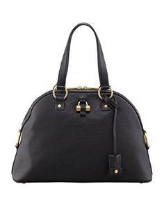 Yves Saint Laurent Muse Medium Gold Hardware Black Best Handbags, Black  Leather Handbags, Neiman 8d74f8edf7
