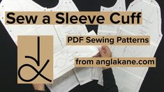 Sew a Sleeve Cuff Coat Pattern Sewing, Pattern Drafting, Pdf Sewing Patterns, Sewing Tutorials, Youtube, Sleeves, Diy, Do It Yourself, Bricolage