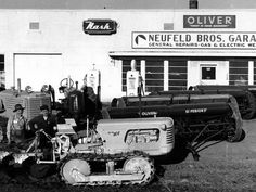 Thank you to Neufeld Garage a valued sponsor of our 6th annual Tractor Trek.