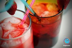 strawberry #campari..share with #friends in our #boglasses!