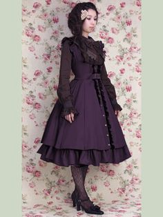 Classic Lolita -Curious JSK by Mary Magdalene