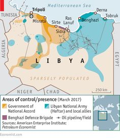 Coastal retreats: Fighting over Libya's oil ports | The Economist