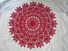 Ravelry: Large Pineapple Doily pattern by American Thread Company