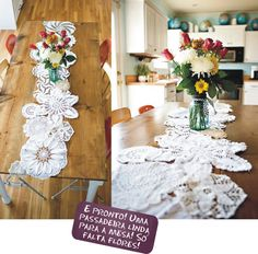 Mother this is what you should do with all your doilies