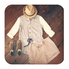 #SundayBest with @poppyandstella in our Camp #Shorts #WillowClay #OOTD #fashion www.willowclay.com