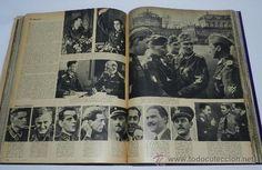 TOMO ENCUADERNADO CN 15 REVISTAS SIGNAL, DIVISION AZUL, II GUERRA MUNDIAL, DESDE LA NUM. 1 DE 1942 A (Militar - Fotografía Militar - II Guer...