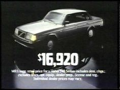 #Volvo 240 commercial