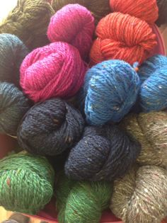 b1c329b3dbd Donegal Wool Spinning Company - newest offering from Studio Donegal.